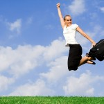bigstock-Happy-Woman-Jumping-3660021