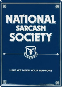 NationalSarcasmSociety